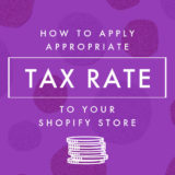 【Shopify】軽減税率を商品価格&消費税に適用する方法
